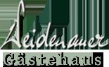 Logo Gästehaus Weidenauer